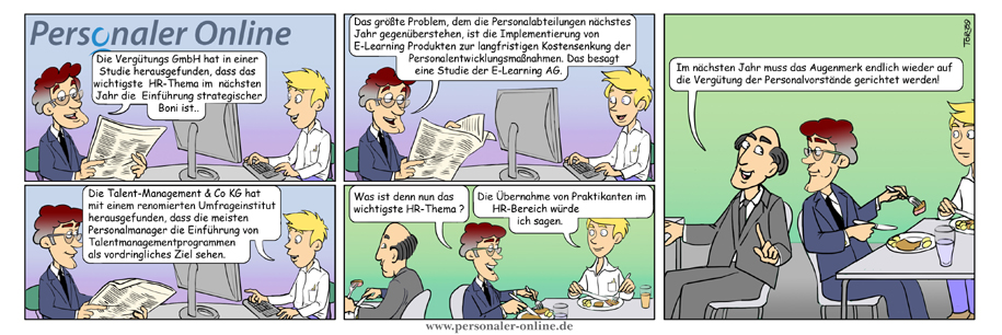 Comic HR-Studien